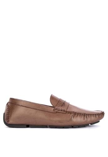 Mendrez brown Arthur Loafers ED4D9SH656BE5CGS_1