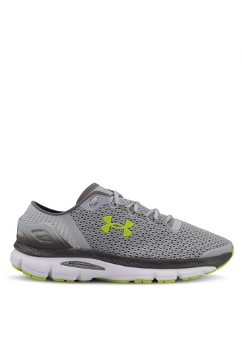 Under Armour grey UA Speedform Intake 2 Shoes UN337SH0SU9GMY_1