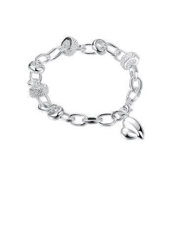 Glamorousky silver Elegant Heart Bracelet C9FB1ACE1FC7EDGS_1