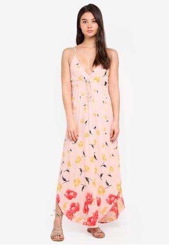 Billabong pink Like Minded Dress 5867CAA7AF5B4BGS_1