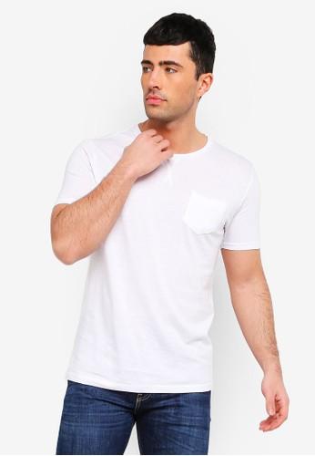 Brave Soul white Arkham T-Shirt 5650CAAB9DE8F0GS_1