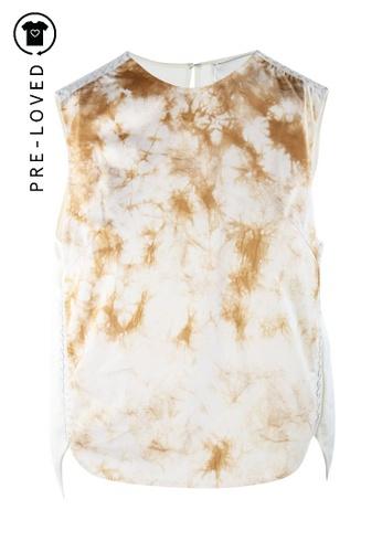 3.1 Phillip Lim beige Pre-Loved 3.1 phillip lim Tie & Dye Sleeveless Top 62D61AAAB51C9BGS_1