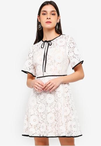 2005e27b3c5d3d Buy Angeleye Faye Lace Dress | ZALORA HK