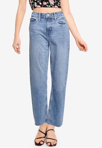 Miss Selfridge blue Light Blue Slim Jeans C8C2CAAA0D7232GS_1