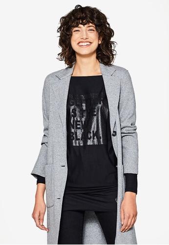 ESPRIT black Long Sleeve Blouse 00824AAFF6E20BGS_1