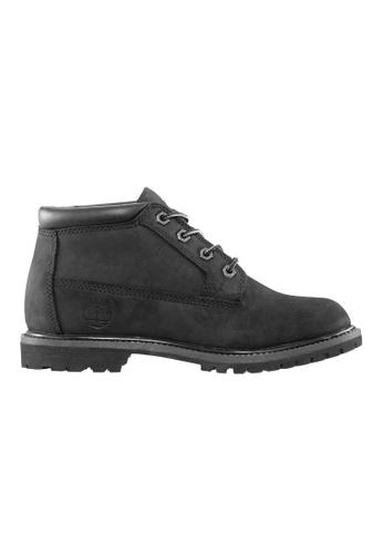 Timberland black Nellie Chukka Double Waterproof Boot TI324SH2UYP6HK_1