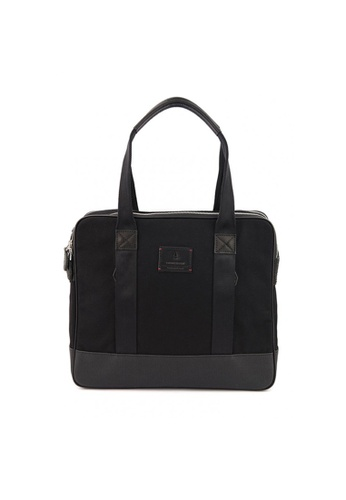 Gnome and Bow black Castor Tote in Jet Black D05CAAC0FB6779GS_1