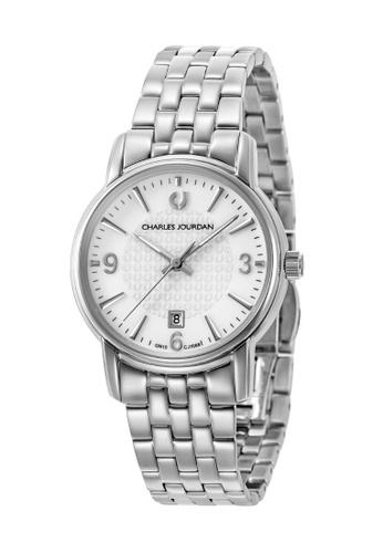 Charles Jourdan silver Charles Jourdan Ladies Watch Elegance Quartz CJ1068-2312 FB7B7ACCFCF475GS_1