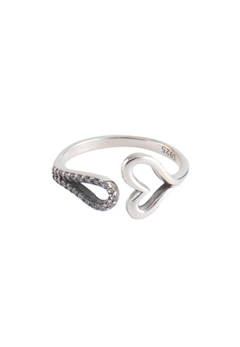 A-Excellence silver Premium S925 Sliver Geometric Ring 3255AAC6CF0944GS_1
