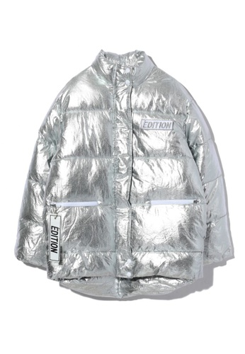 LOS ANGELES PROJECT -FASHION silver Édition Puffer Jacket. CCC8BAAE62BDD0GS_1