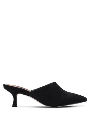 ZALORA black Kitten Heel Mules 0B294ZZ8169279GS_1