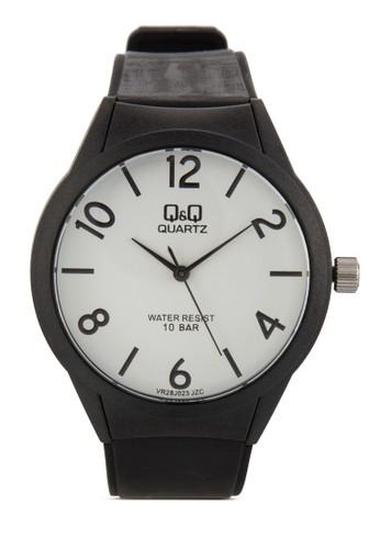 VR28J023Y 彩色數字圓esprit 工作框手錶, 錶類, 飾品配件