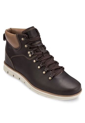 Timberland Men's Bradesprit 童裝street 真皮高山登山鞋, 鞋, 鞋