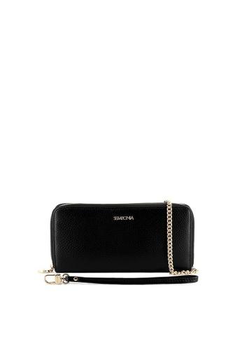 SEMBONIA black Genuine Leather Wallet (Black) SE598AC0SS2DMY_1