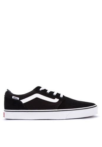 Vans black Chapman Stripe Sneakers 61ADASH93B88ABGS_1
