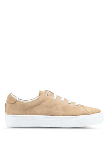 Mango brown Leather Sneakers 6159ASH9433469GS_1
