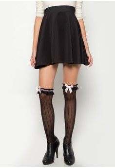 Stripes with Ribbon Stockings