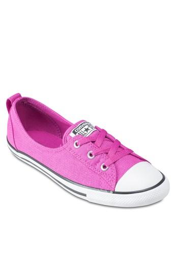 Chuck Taylor All Star esprit 香港三眼繫帶帆布平底鞋, 女鞋, 鞋