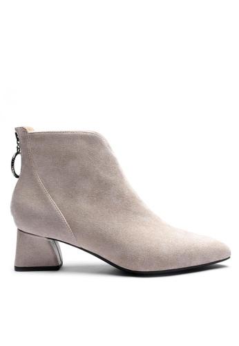 Twenty Eight Shoes 猄布踝靴1269-1 6DD92SHF3CAA84GS_1