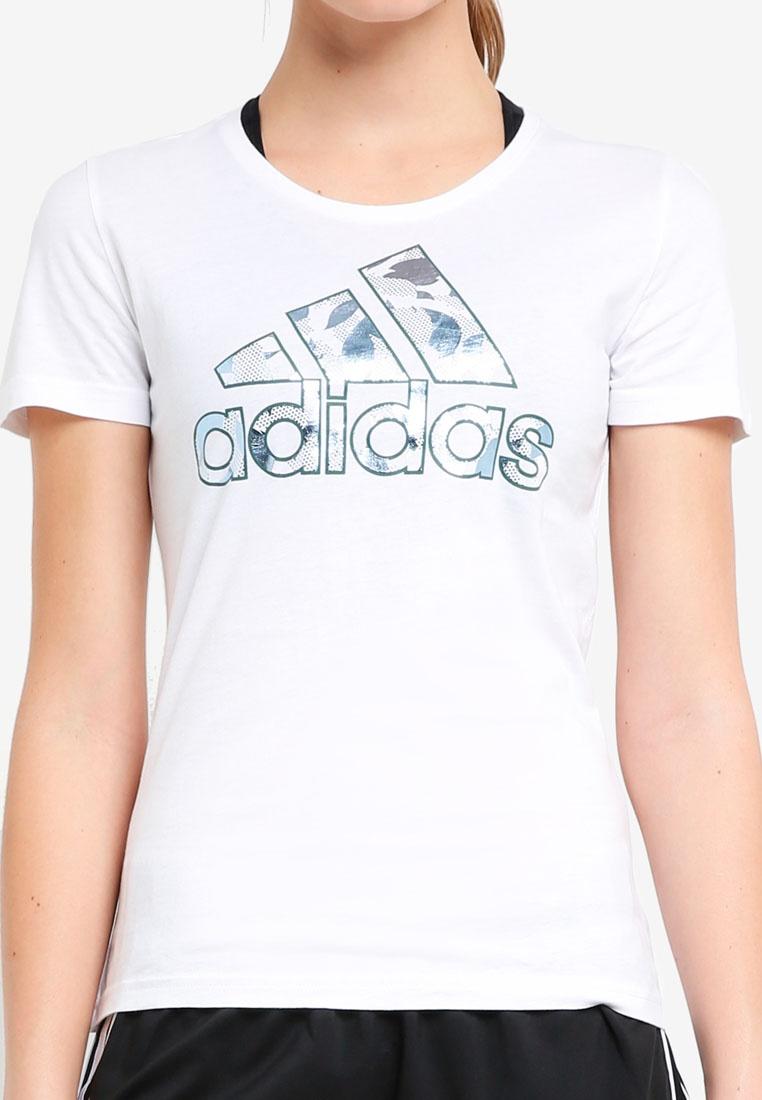 adidas adidas tee bos White foil UaaCSqwA