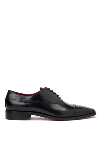 Bristol Shoes black Baylor Black Brogue Oxford BR842SH67KCIPH_1