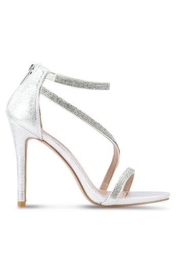 Miss KG silver Dutchess Diamante Heels MI302SH0RSTMMY_1