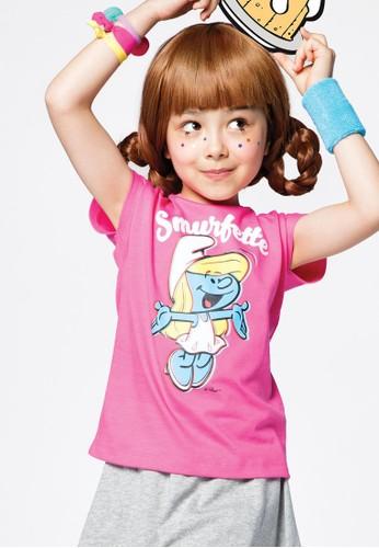Bossini pink Bossini Kids Girl T-Shirt Pinky Rose (04087401030) 4089CKA581D264GS_1