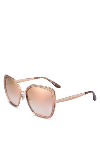 Dolce & Gabbana gold Dolce & Gabbana DG2197 Sunglasses 8C919GL2626F2FGS_1