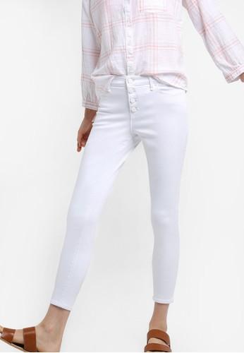 中腰esprit 童裝窄管牛仔褲, 服飾, 牛仔褲