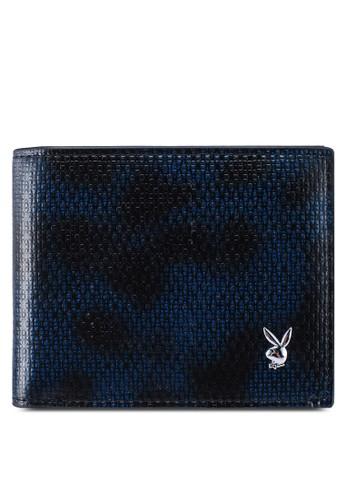 Playboy blue Rfid Blocking Bi-Fold Wallet E1EFDAC178FA66GS_1