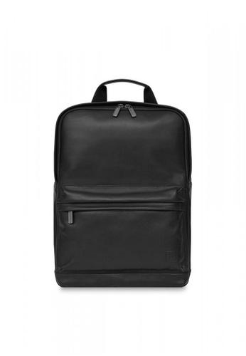 "knomo black Brackley 15.6"" Backpack (Black) 8CC22ACF840941GS_1"