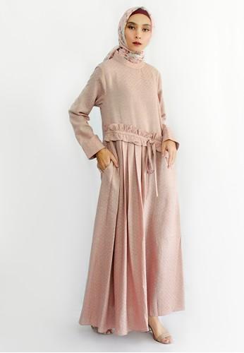 INA PRIYONO pink ARMITA Peach Longdress by Ina Priyono 14838AAE1BAC49GS_1