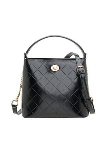 Valentino Creations black Valentino Creations Emellie Bucket Bag 78205ACBA2B39BGS_1