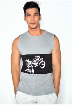 Men's Sleeveless Muscle Shirt