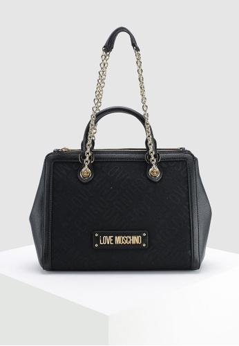 92615096b82f Buy Love Moschino Tess Jacquard Shoulder Bag Online on ZALORA Singapore