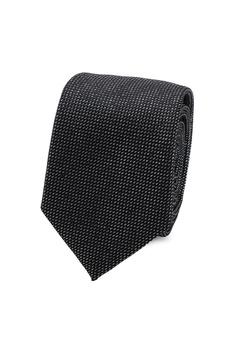 421b4101d8f1 Burton Menswear London silver Silver Sparkly Texture Tie 3B3FAAC0DCBE01GS 1
