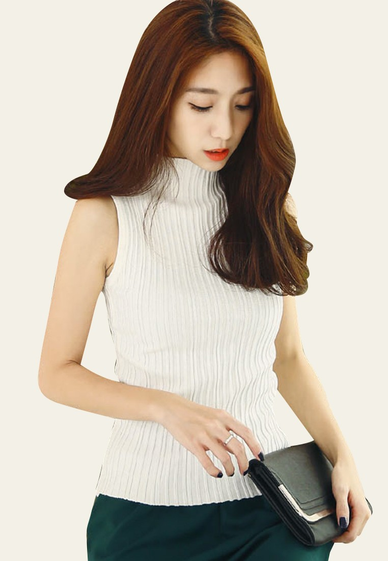 Go-To Ribbed Knit Top