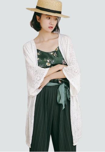 Shopsfashion white Kimono Outerwear in White SH656AA0FZZ1SG_1