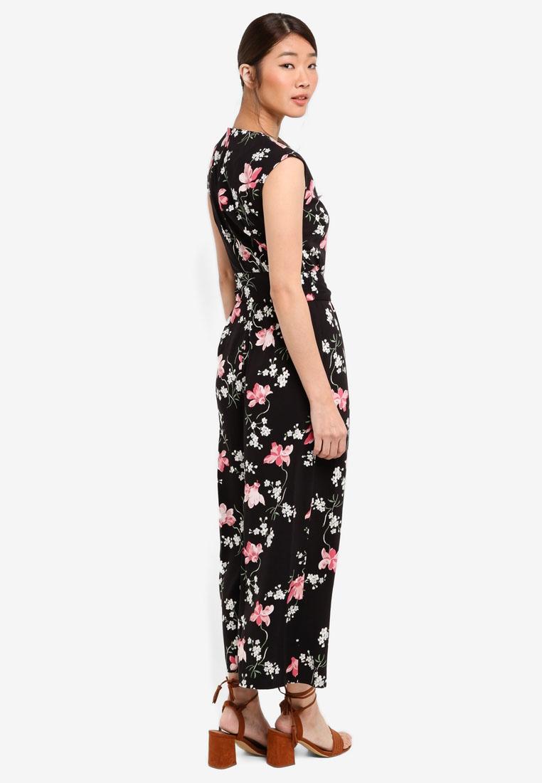 6612a3686fd ... Black WAREHOUSE Floral Jumpsuit Floral WAREHOUSE WAREHOUSE Black Constantine  Jumpsuit Floral Constantine Constantine qgPFw1H ...