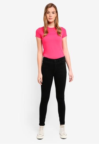 Calvin Klein pink Short Sleeve Institut Logo Tee - Calvin Klein Jeans B9BACAAB1E36EEGS_1