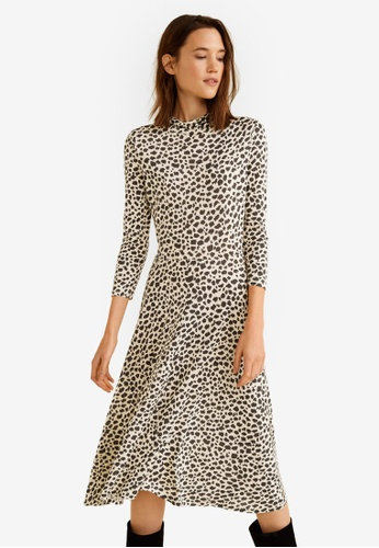 d1ffb9c9d6 Shop MANGO Animal Print Dress Online on ZALORA Philippines