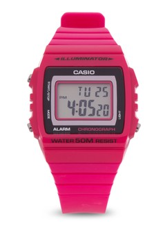 Digital Watch W-215H-4A-V&V-PINK