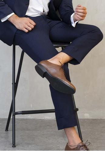 House of Cuff navy Celana Ankle / Cropped Pants Slimfit Sirwal Biru Navy 9031EAA3205B06GS_1