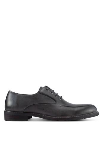ZALORA grey Closed Lace Oxford Shoes D50A4SH9863F46GS_1