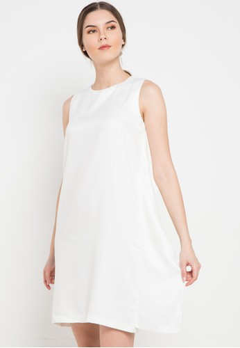 Noche white Alora Dress 5A3A6AA210A2E8GS_1