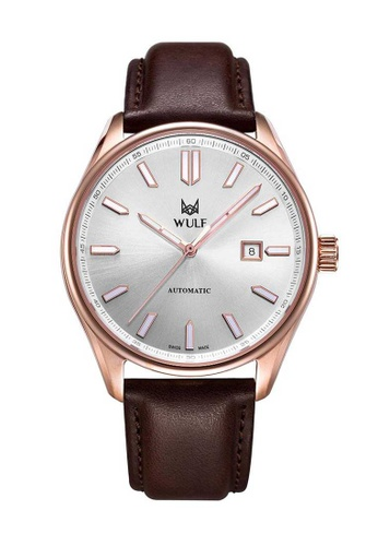 Wulf brown Wulf Alpha Rose Gold and Brown Leather Watch C5E05AC8B1B504GS_1