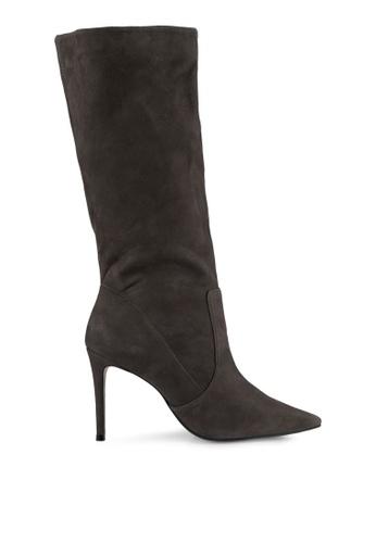 Carvela KG grey Grey Ankle Leather Boots CA459SH0SCKMMY_1