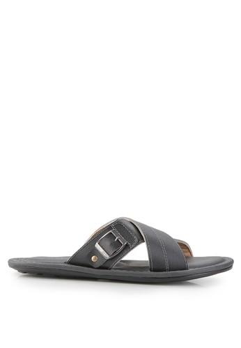 MARC & STUART Shoes black Sandal Hector 1 MA456SH0UOQUID_1