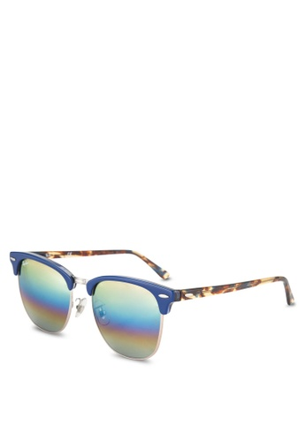 Buy Ray-Ban Clubmaster RB3016 Sunglasses   ZALORA HK 2f6c0af55a6d