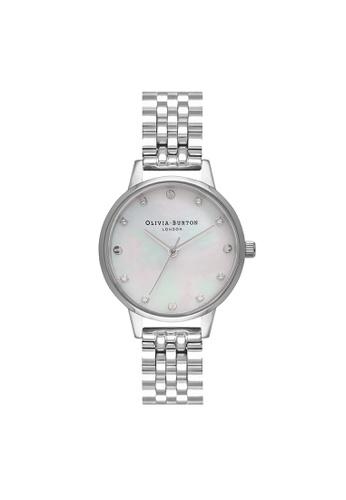 Olivia Burton silver Olivia Burton Classics Silver  Women's  Watch (OB16SE09) 38368ACDD75EF2GS_1